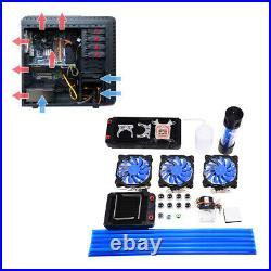 DIY 120/240mm Wasserkühlung Kühlkörper System Kit For PC Computer CPU Kühlung