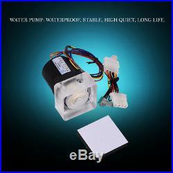DIY 240mm Wasserkühlung Kit CPU/GPU Block Kühler Kühlkörper LED Lüfter Compputer