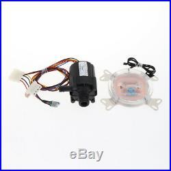 DIY PC Water Cooling Kit 240mm Radiator Pump Reservoir Color CPU Block Tube