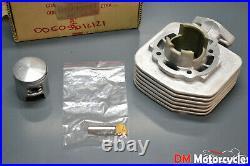Derbi genuine new predator 50 lc water cooled cylinder piston kit pn 00g05012121