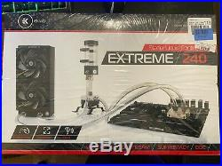 EKWB Extreme 240, complete custom liquid cooling kit, for Intel and AMD AM4 CPUs