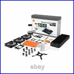 EK-Classic Kit P360 D-RGB Liquid Cooling Kit, CPU Water Block, Radiator, 3x Fans