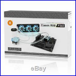 EK-KIT P360 Classic Series RGB 360mm Ultimate Liquid Cooling Kit, inc CPU Block