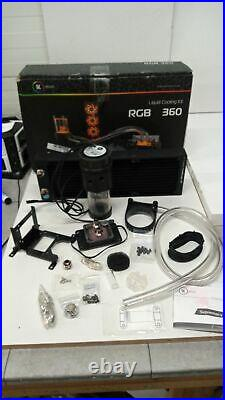 EK Water Blocks EK-KIT RGB 360 Grafikkarte, Schwarz