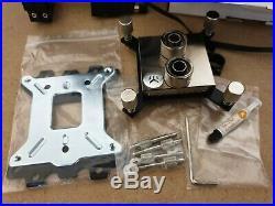 EK Water Cooling Kit, 2 Radiators, 2 Pumps, reservior, fittings, QDC parts