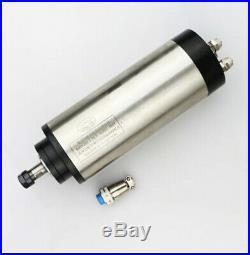 ES 1.5KW ER16 Water Cooled Spindle Motor Milling Kit +Inverter+Clamp +Pump CNC