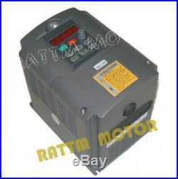 EU 1.5KW ER11 Water Cooled Spindle Motor&VFD CNC Kit&80mm Clamp&Pump&13x Collet
