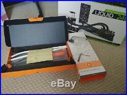 Ekwb L240 Hardline Kit Amd + Fittings + Mayhems Blitz Pro Kit + Petras Pt Nuke