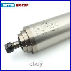 FRA3KW ER20 CNC Spindle Milling Water cooling spindle motor VFD Clamp Pump Kit