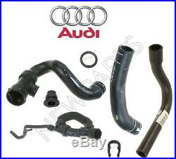 For Audi S4 00-02 Water Hoses Molded Lower & Upper Straight Angled Cooling Kit