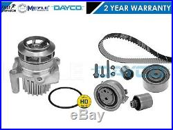 For Audi Seat Skoda Vw Dayco Timing Belt Kit Meyle Germany Water Pump 03l198119
