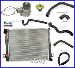 For BMW E24 E28 Radiator Auto Trans & Water Pump with Hoses Cooling Kit
