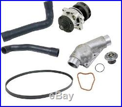 For BMW E36 323i 325is 328is Cooling Kit-Water Pump Thermostat Hoses Seals