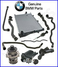 For BMW E39 Radiator Water Pump Hoses Expansion Tank Thermostat Cooling Kit OES