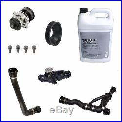 For BMW E60 525i 530i 04-05 Cooling System Kit with Thermostat Water Pump Hoses