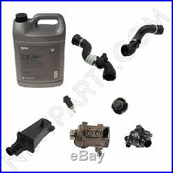 For BMW E85 E86 Z4 3.0L Cooling System Service Kit with Antifreeze & Water Pump