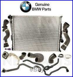 For BMW Z4 06-08 Auto Trans Radiator & Water Hoses Cooling Repair Kit Genuine