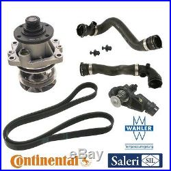 For E46 3-Series Cooling System Kit Water Pump Thermostat Radiator Hose Belt OEM