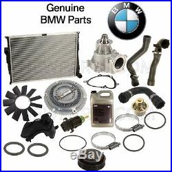 For E46 M3 Extensive Cooling System Kit Radiator Water Pump Hoses Fan Clutch OES