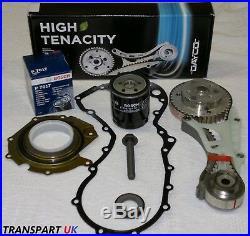 For Ford Mondeo 1.8 Diesel Tdci Timing Belt Kit Lower Wet Cassette Gaskets Bolt