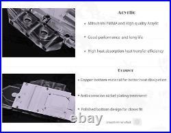 GPU Cooler, Water Cooling Kit AIO Radiator Fan Pump GPU Block A-RGB CUSTOMIZE