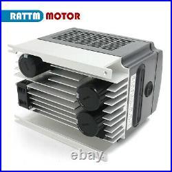 Ger 220V 3KW ER20 Wassergekühlter Spindel Fräsmotor +VFD+Pump +Collets CNC Kit