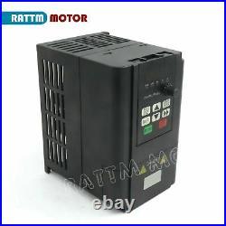 Ger ER20 220V 2.2KW Water Spindel motor Wasserkühlung VFD Pumpe Fräs CNC Kit