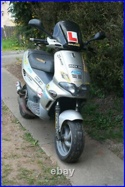 Gilera Runner 50cc with 70cc Water Cooled Kit. Spares or Repairs. 2-Stroke