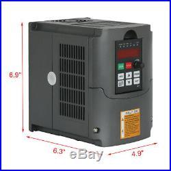 HY 2.2KW ER20 220V CNC Water Cooled Spindle Motor+VFD Inverter+Clamp+Collet Kit