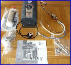 Insinkerator HC1100 Steaming Hot & Cool water Tap Chrome Complete kit BNIB