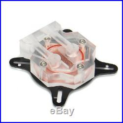 Kit di raffreddamento ad acqua per PC 240mm Serbatoio CPU Tubi rigidi DIY
