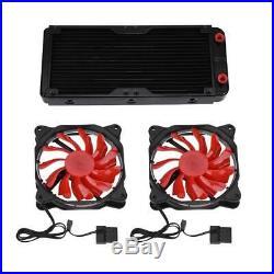 Kit di raffreddamento ad acqua per dissipatore di calore CPU / GPU diy 240mm