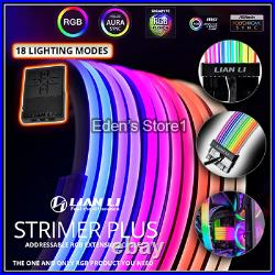 LIANLI Extension Cable Kit Strimmer Plus Full Set Addressable RGB Power Cable