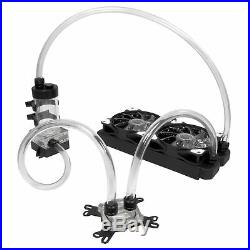 Liquid. Cool Vortex One Advanced Custom DIY 240mm Water Cooling Kit