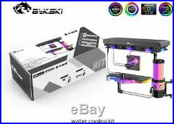 MOD DIY Complete Kit for PC Acrylic Hose Water Liquid Cooling System Hard Tubing
