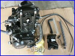 Manual 250cc Zongshen OHC Water Cooled Quad ATV Engine Kit Zongshen Motor
