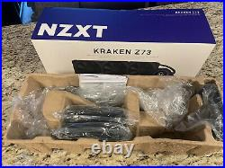 NZXT KRAKEN Z73 360mm Liquid Cpu Cooler With Fans, AMD Mounting Kit, In Box