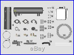 New 5.7L, V8 Marine Engine Fresh Water Kit/Closed Cooling Kit- Volvo years 00-up