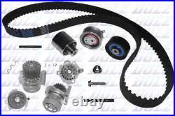 New Water Pump Timing Belt Set For Vw Audi Seat Skoda Touran 1t1 1t2 Bkd Dolz
