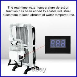 Notebook Computer PC Wasserkühlung Set Integrierte Wasserpumpe Lüfter Kühler Kit