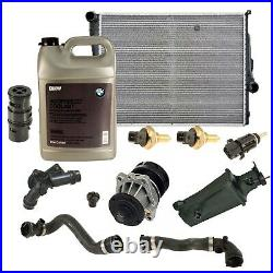 OEM Automatic Transmission Radiator Water Pump Cooling Kit For BMW E46