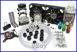 (Open Box) Liquid Cool Vortex One Advanced DIY 240mm Water Cooling Kit