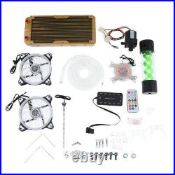 PC 240 Water Cooling Kit With Color CPU Radiato Pump Tank Cooling