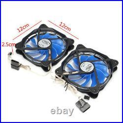 PC 240mm Radiator Reservoir Liquid Water Cooling Cooler Kit CPU GPU Heat