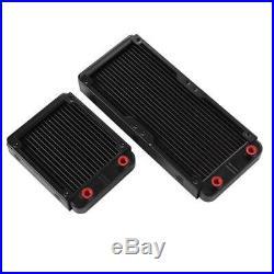 PC Liquid Cooling 155/175mm Radiator Cooler Kit Pump Reservoir CPU GPU HeatSink