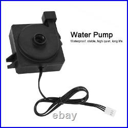 PC Liquid Water Cooling Kit Heatsink Reservoir Pump CPU GPU Block Cylinder Tank