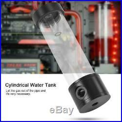 PC Liquid Water Cooling Kit Heatsink Reservoir Pump CPU GPU Block RGB Fan Tube G
