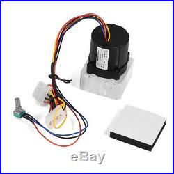 PC Water Cooling Kit 240mm Radiator 200mm Reservoir Pump CPU Block Green LED Fan