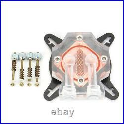 PC Water Cooling Kit 240mm Radiator Pump Reservoir CPU Block Rigid Tubes DIY