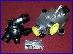 Pierburg 7.02851.20.8 Bmw Oem Elec. Water Pump (11517586925) & Oem Thermostat